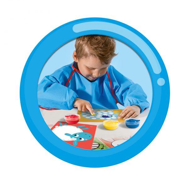 Fingerprint painting for toddlers by SES Creative. A Carbon Neutral Toy