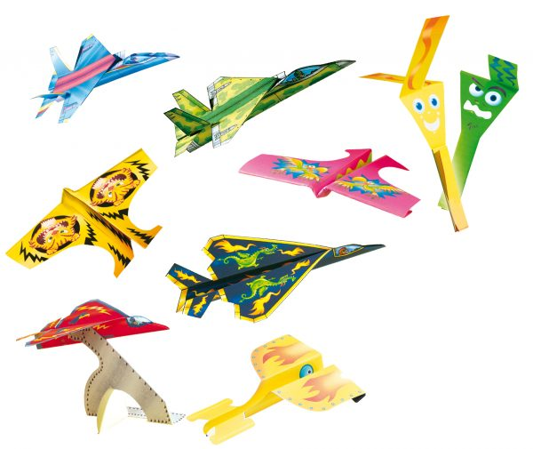 Make your own origami airplanes