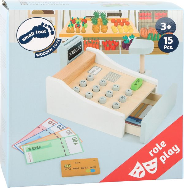 Play Wooden Cash Register from Small Foot Design Toys