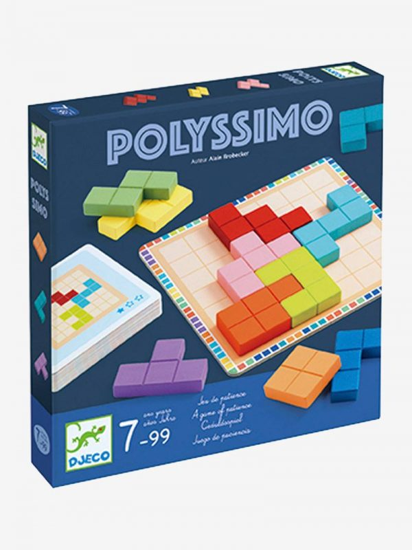 Djeco Polyssimo STEM Toy, a game of patience