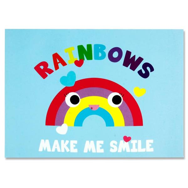 Rainbows Make Me Smile - Sticky Notes Book