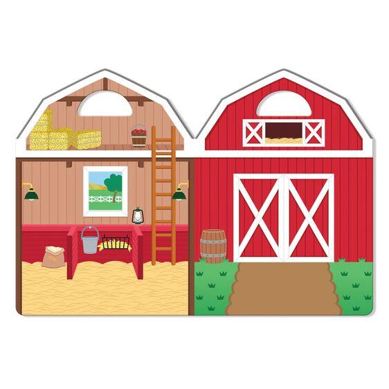 Melissa and Doug Reusable Farm Stickers