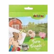 Farm Friends Shrinkles - Shrinking Plastic Craft Activity