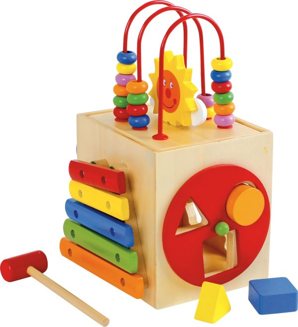 Small Activity Cube for Toddlers