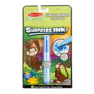 Surprize Ink - Jungle Animals Game Book by Melissa and Doug Travel Toys