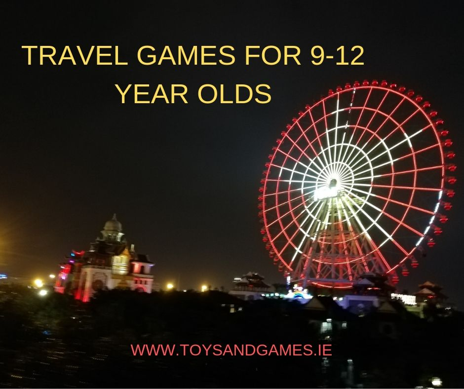 Travel Games for 9-12 Year Olds