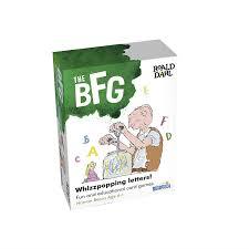 The BFG Spelling Card Games