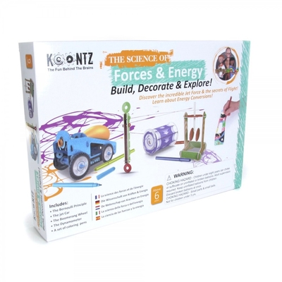 The Science of Forces and Energy Science Kit