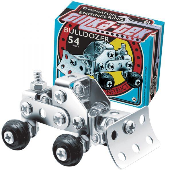 Tinka Tek Metal Engineering Kit Bulldozer