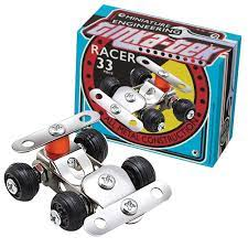 Tinka Tek Metal Construction Kit for children. Racer Car
