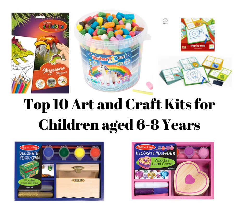 Top 10 Arts and Craft Kits for 6-8 Year Olds
