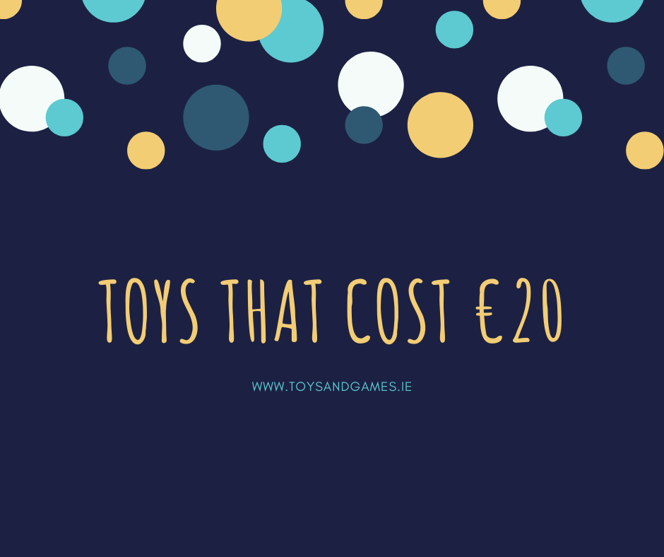 Toys that cost €20