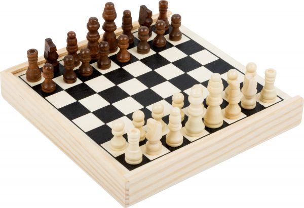 Travel Size Wooden Chess Game