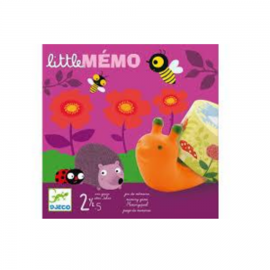 Djeco Little Memo Memory Game for 3-5 year olds