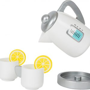 Wooden Kettle and Mugs - pretend food from Small Foot Design Toys
