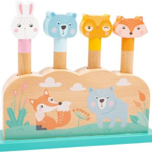 Wooden Pop Up Toy for Toddlers from Small Foot Design Toys