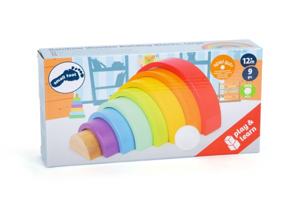 Wooden Rainbow from Small Foot Design Toys