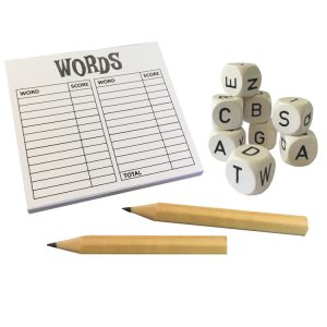 Words boggle game