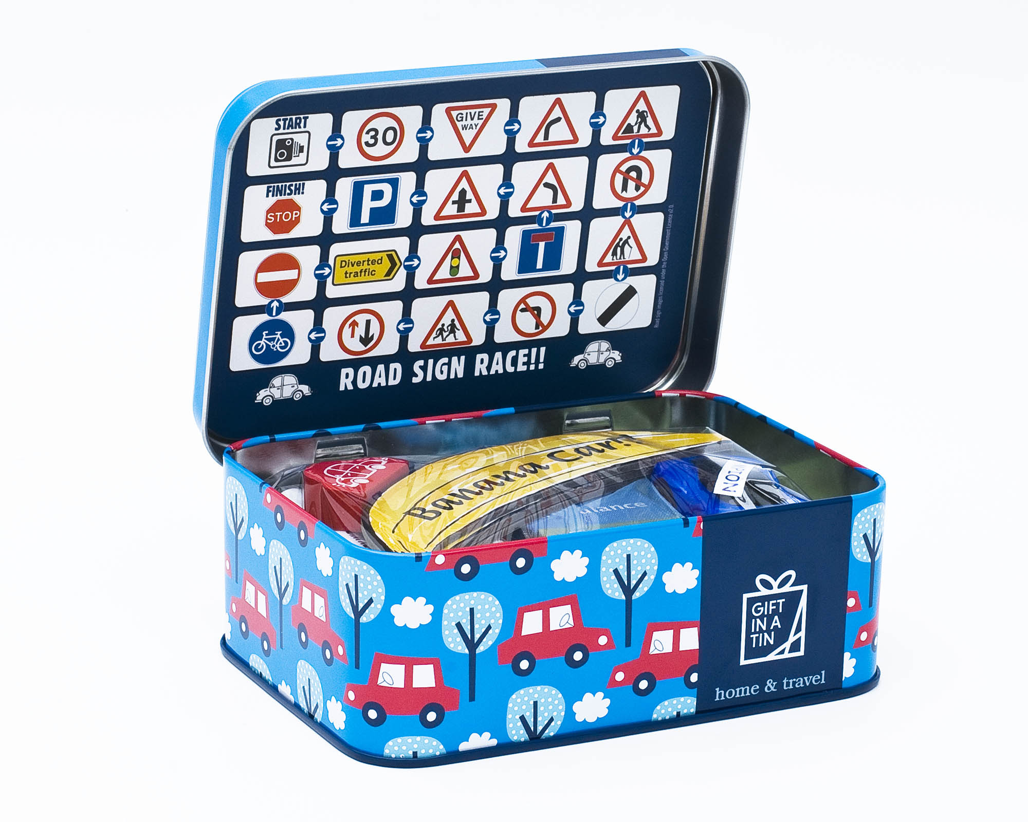 Gift in a Tin – Car Journey Games