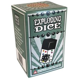 Exploding Dice Magic Trick