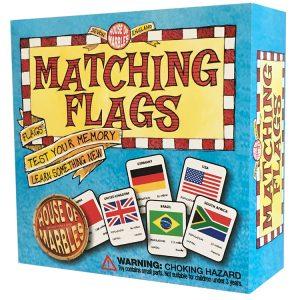 Matching Flags matching pairs memory game