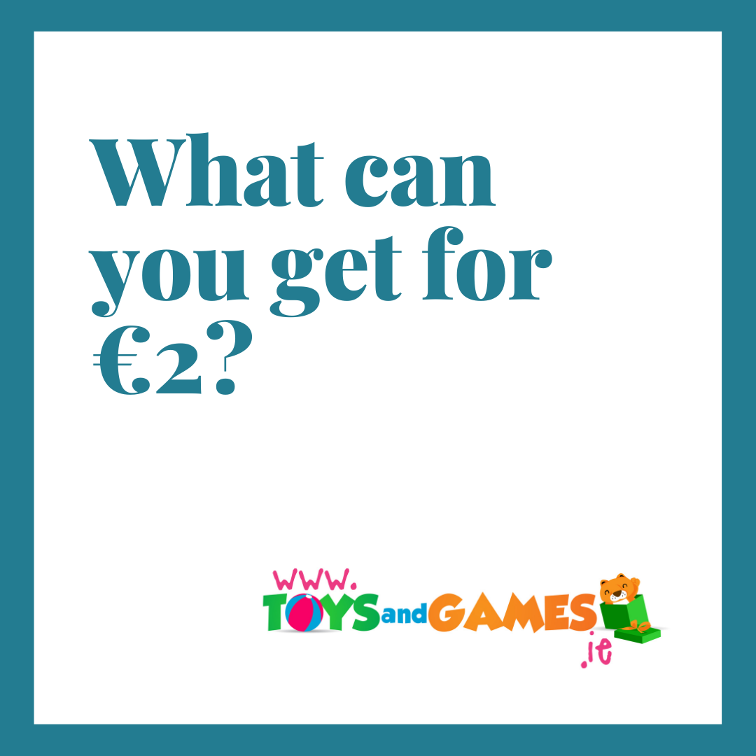 What can you get for €2?