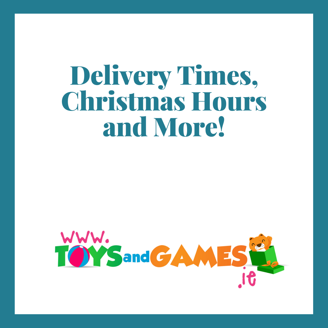 Delivery Times, Christmas Hours and More!