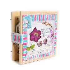 Mini Retro Wooden Flower Press