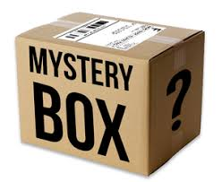 Mystery Box of Toys and Games