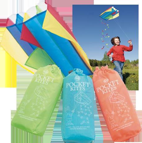 Pocket Kite in a Sack