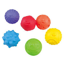 Textured ball set, sensory play for toddlers