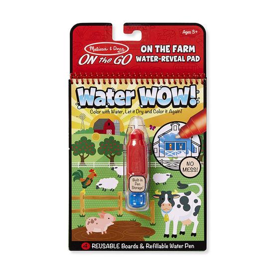 Melissa and Doug on the go water wow farm
