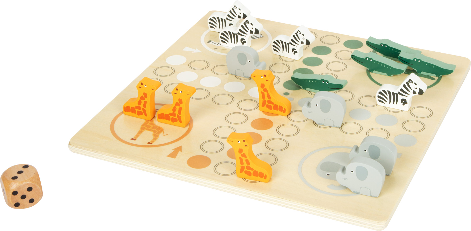 Ludo Board Game 'Safari'