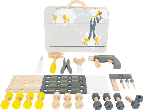 Wooden Play Toolbox with Tools from Small Foot Design Toys