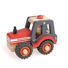 Wooden Tractor Toy from Egmont Toys