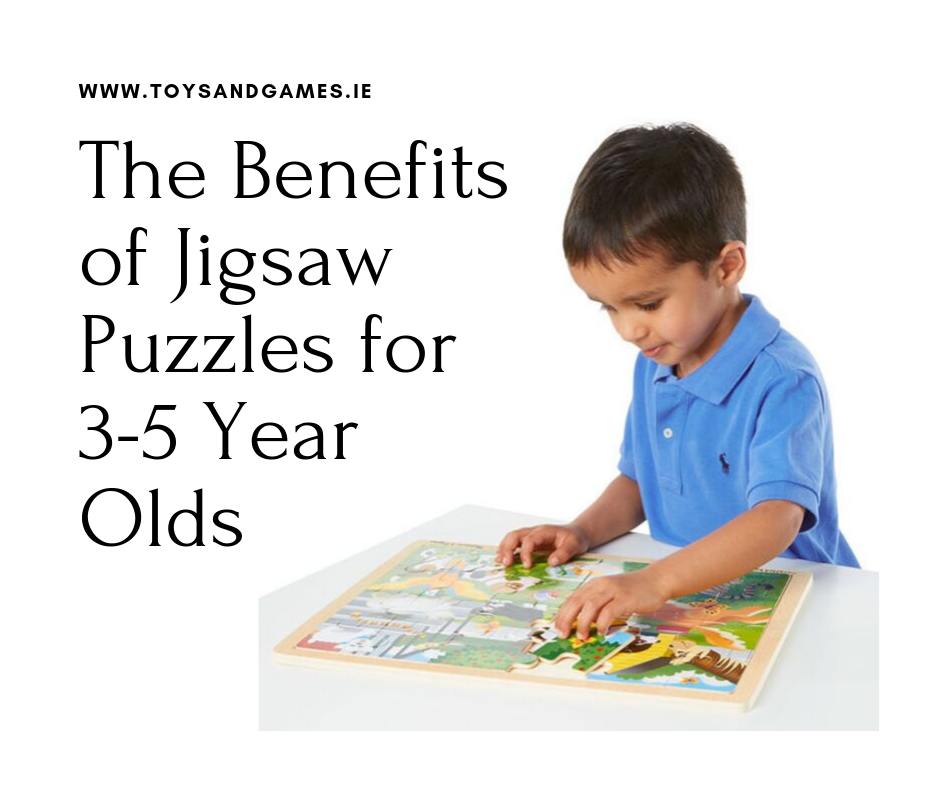 The Benefits of Jigsaw Puzzles for 3-5 Year Olds