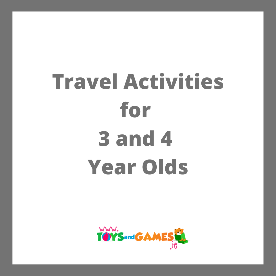 Travel Activities for 3 and 4 Year Olds