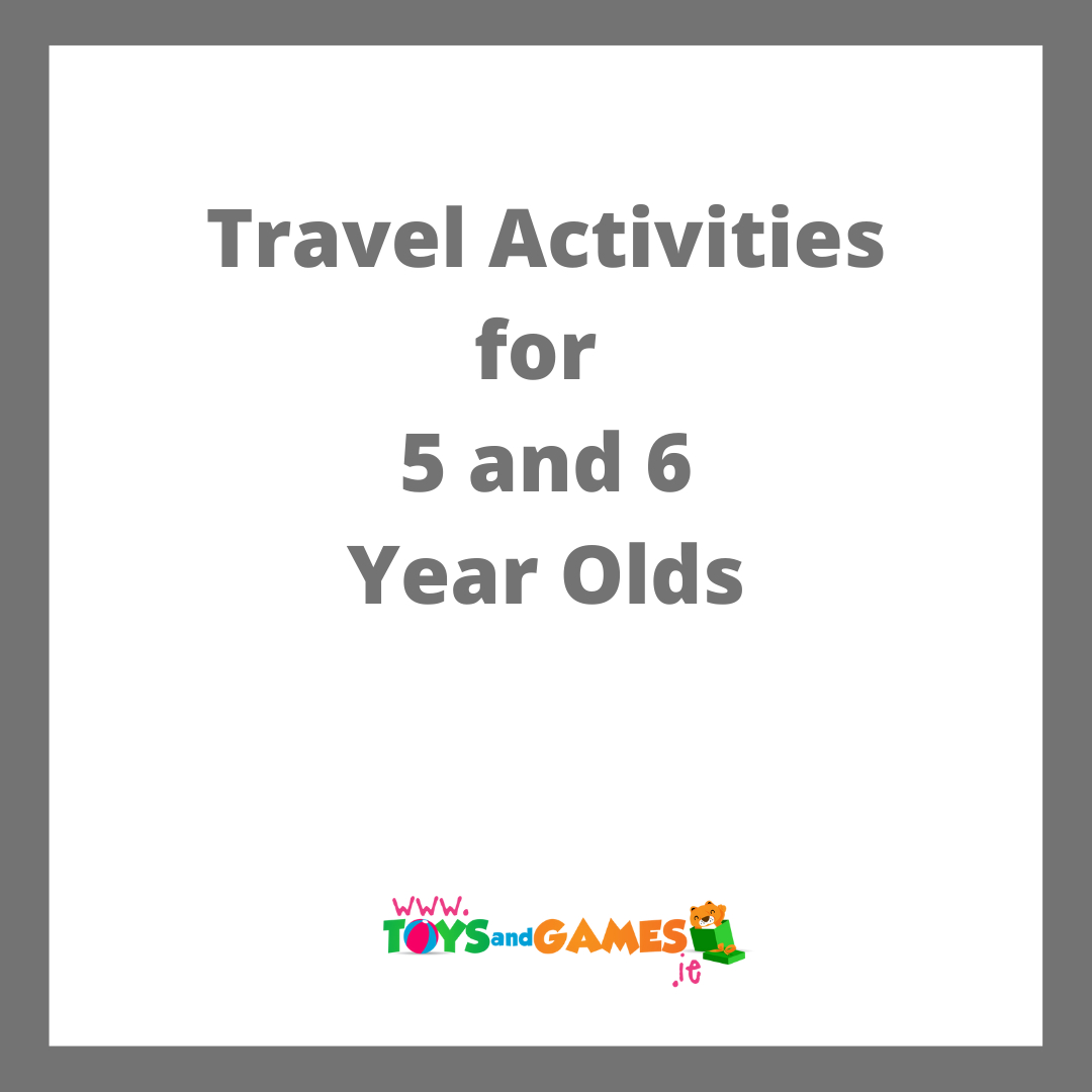 10 Travel Activities for 5 and 6 Year Olds