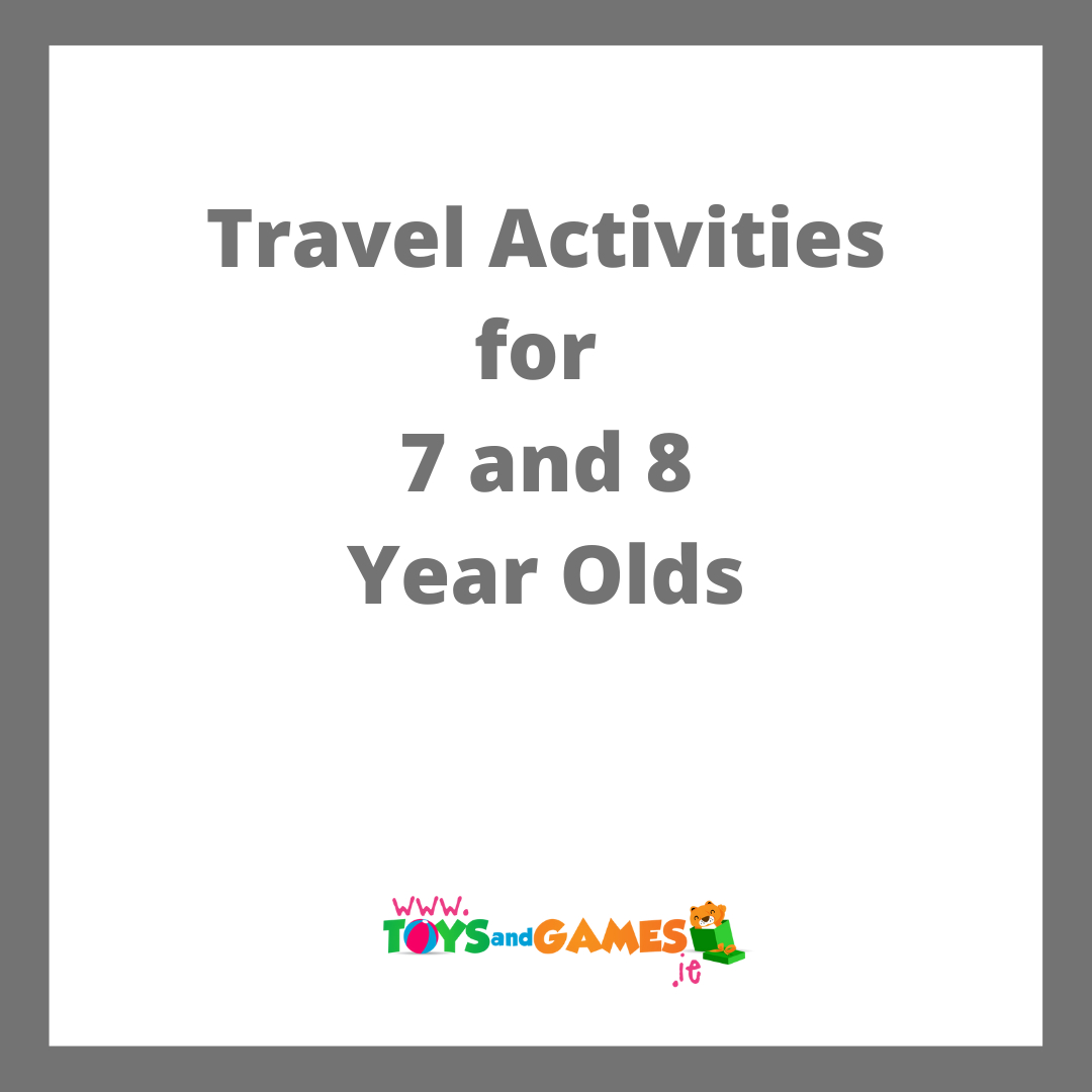 Travel Activities for 7 and 8 Year Olds