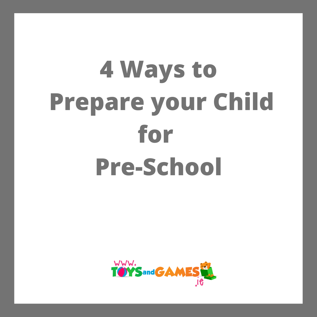 4 Ways to Prepare your Child for Pre-School